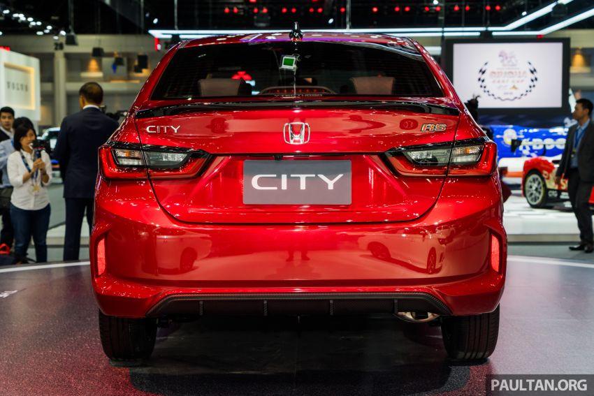GALERI: Honda City 2020 di Thailand – tiga tingkat kemasan, enjin 1.0 liter turbo, 122 PS dan 173 Nm Image #1053110