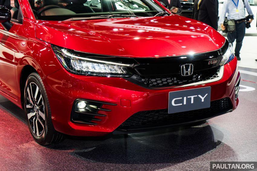 GALERI: Honda City 2020 di Thailand – tiga tingkat kemasan, enjin 1.0 liter turbo, 122 PS dan 173 Nm Image #1053115