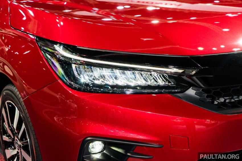 GALERI: Honda City 2020 di Thailand – tiga tingkat kemasan, enjin 1.0 liter turbo, 122 PS dan 173 Nm Image #1053117