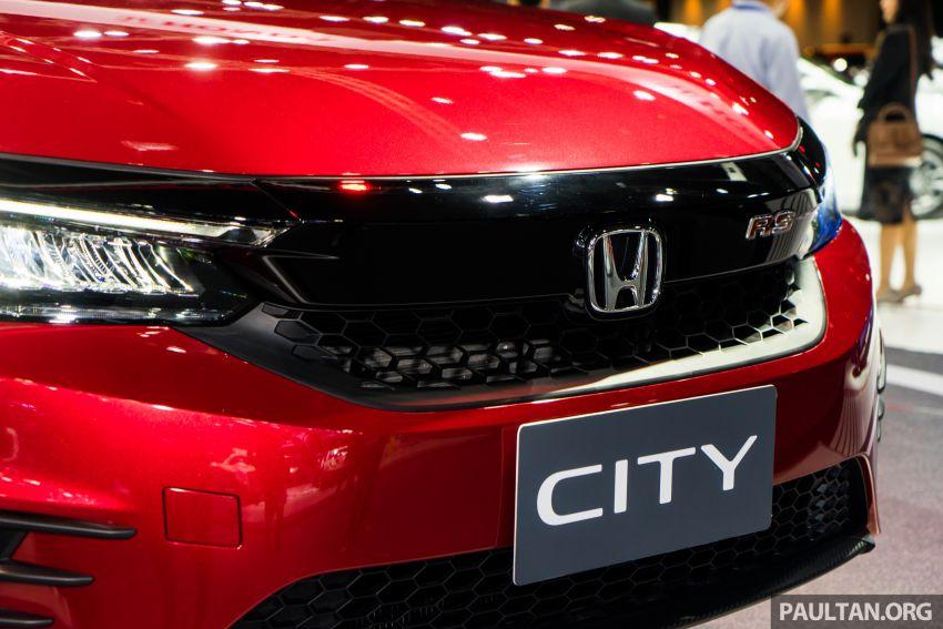 GALERI: Honda City 2020 di Thailand – tiga tingkat kemasan, enjin 1.0 liter turbo, 122 PS dan 173 Nm Image #1053118