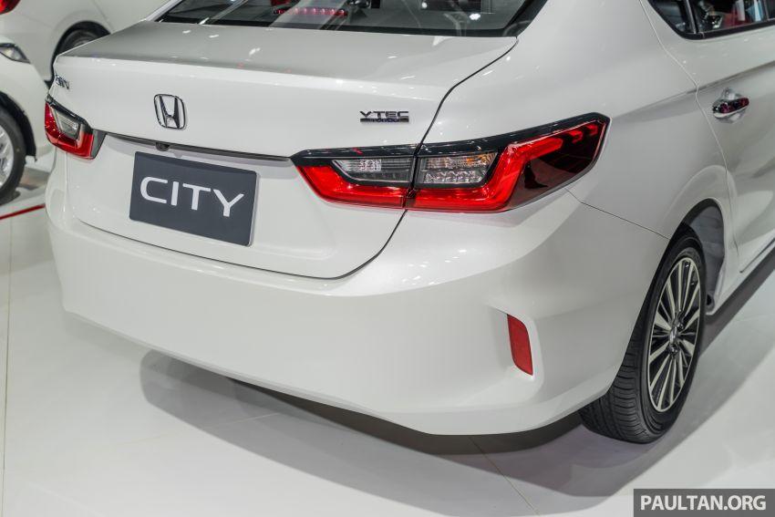 GALERI: Honda City 2020 di Thailand – tiga tingkat kemasan, enjin 1.0 liter turbo, 122 PS dan 173 Nm Image #1053174