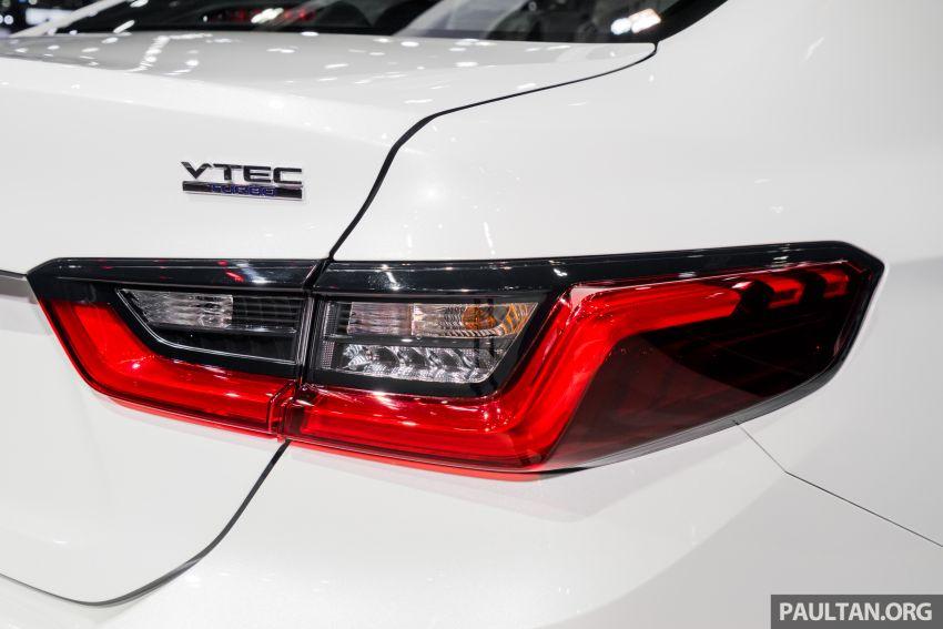 GALERI: Honda City 2020 di Thailand – tiga tingkat kemasan, enjin 1.0 liter turbo, 122 PS dan 173 Nm Image #1053175