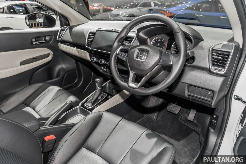 GALERI: Honda City 2020 di Thailand – tiga tingkat kemasan, enjin 1.0 liter turbo, 122 PS dan 173 Nm Image #1053178