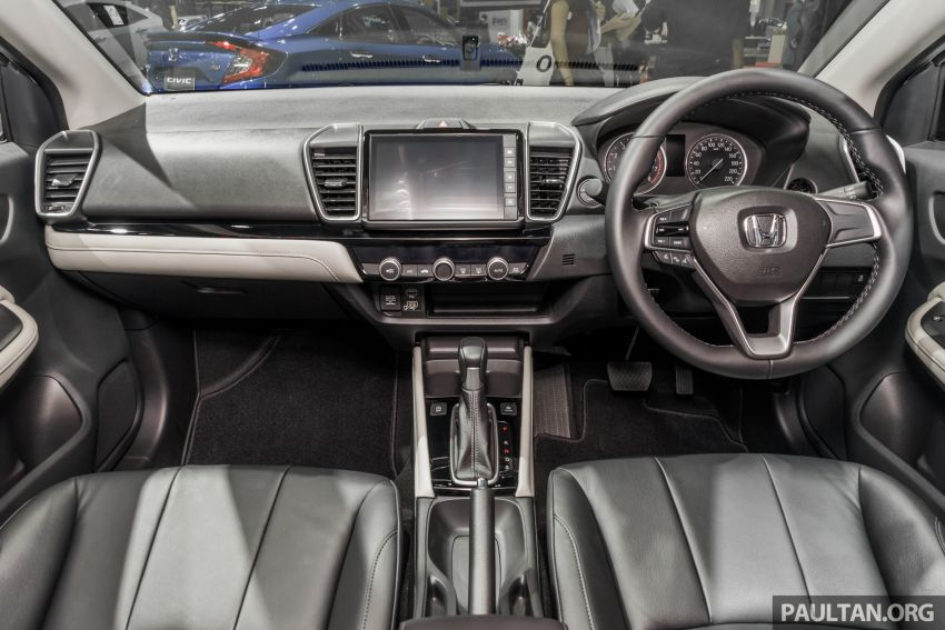 GALERI: Honda City 2020 di Thailand – tiga tingkat kemasan, enjin 1.0 liter turbo, 122 PS dan 173 Nm Image #1053179