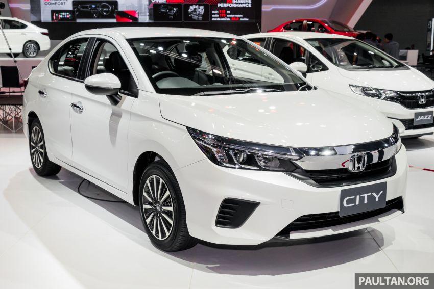 GALERI: Honda City 2020 di Thailand – tiga tingkat kemasan, enjin 1.0 liter turbo, 122 PS dan 173 Nm Image #1053162