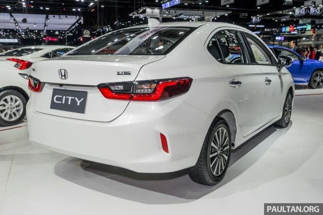 Gallery 2020 Honda City On Display At Thailand Motor Expo
