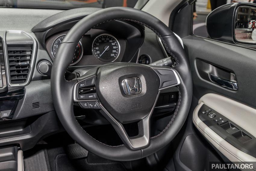 GALERI: Honda City 2020 di Thailand – tiga tingkat kemasan, enjin 1.0 liter turbo, 122 PS dan 173 Nm Image #1053181