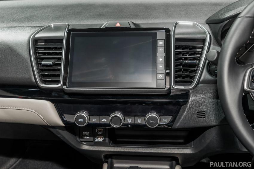 GALERI: Honda City 2020 di Thailand – tiga tingkat kemasan, enjin 1.0 liter turbo, 122 PS dan 173 Nm Image #1053186