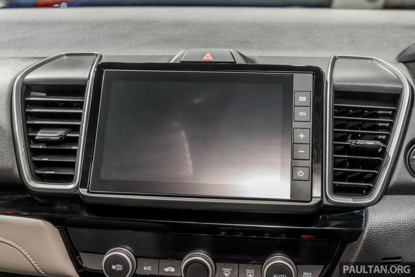 GALERI: Honda City 2020 di Thailand – tiga tingkat kemasan, enjin 1.0 liter turbo, 122 PS dan 173 Nm Image #1053187