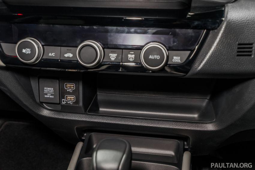 GALERI: Honda City 2020 di Thailand – tiga tingkat kemasan, enjin 1.0 liter turbo, 122 PS dan 173 Nm Image #1053189