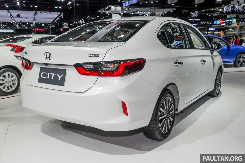 GALERI: Honda City 2020 di Thailand – tiga tingkat kemasan, enjin 1.0 liter turbo, 122 PS dan 173 Nm Image #1053163