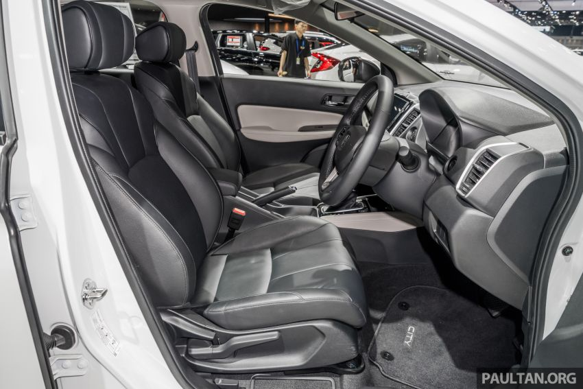 GALERI: Honda City 2020 di Thailand – tiga tingkat kemasan, enjin 1.0 liter turbo, 122 PS dan 173 Nm Image #1053197