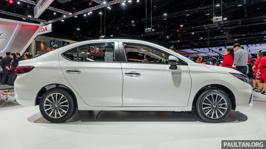 GALERI: Honda City 2020 di Thailand – tiga tingkat kemasan, enjin 1.0 liter turbo, 122 PS dan 173 Nm Image #1053164