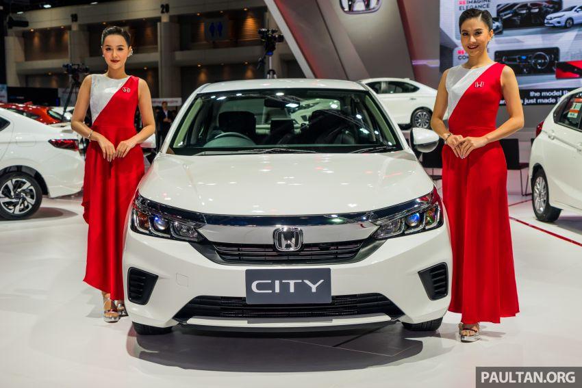 GALERI: Honda City 2020 di Thailand – tiga tingkat kemasan, enjin 1.0 liter turbo, 122 PS dan 173 Nm Image #1053165