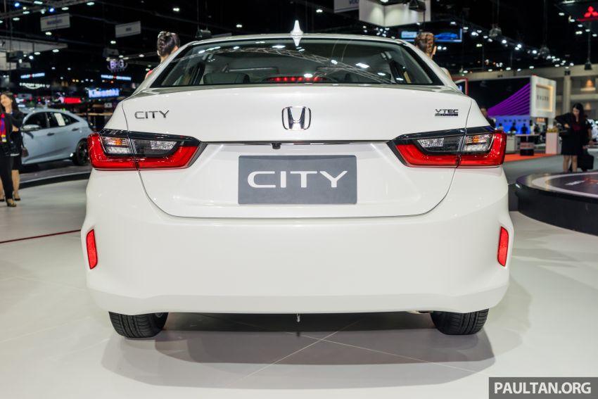 GALERI: Honda City 2020 di Thailand – tiga tingkat kemasan, enjin 1.0 liter turbo, 122 PS dan 173 Nm Image #1053166