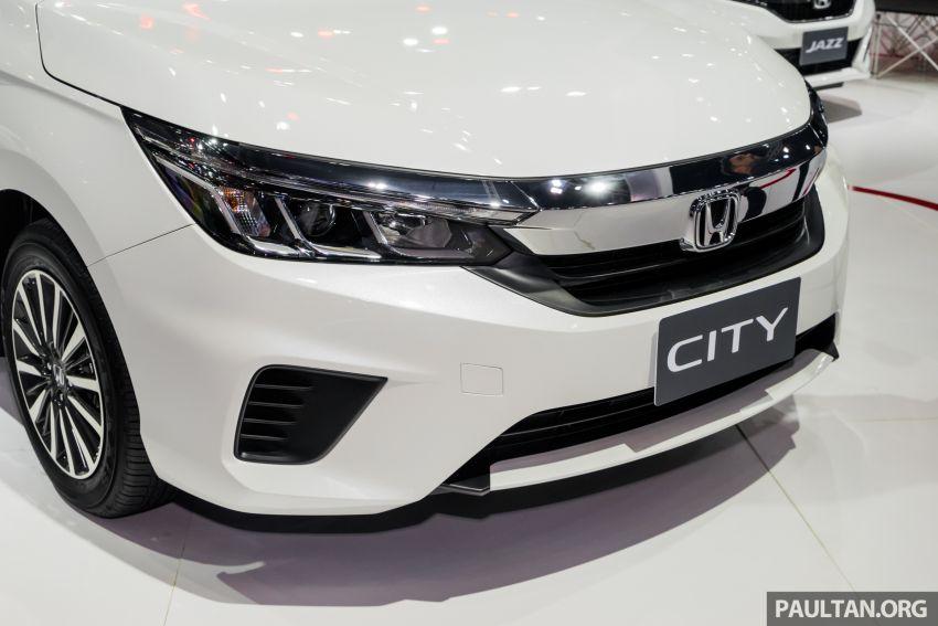 GALERI: Honda City 2020 di Thailand – tiga tingkat kemasan, enjin 1.0 liter turbo, 122 PS dan 173 Nm Image #1053167