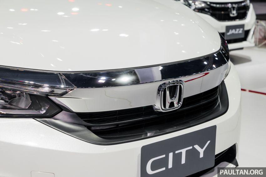 GALERI: Honda City 2020 di Thailand – tiga tingkat kemasan, enjin 1.0 liter turbo, 122 PS dan 173 Nm Image #1053169