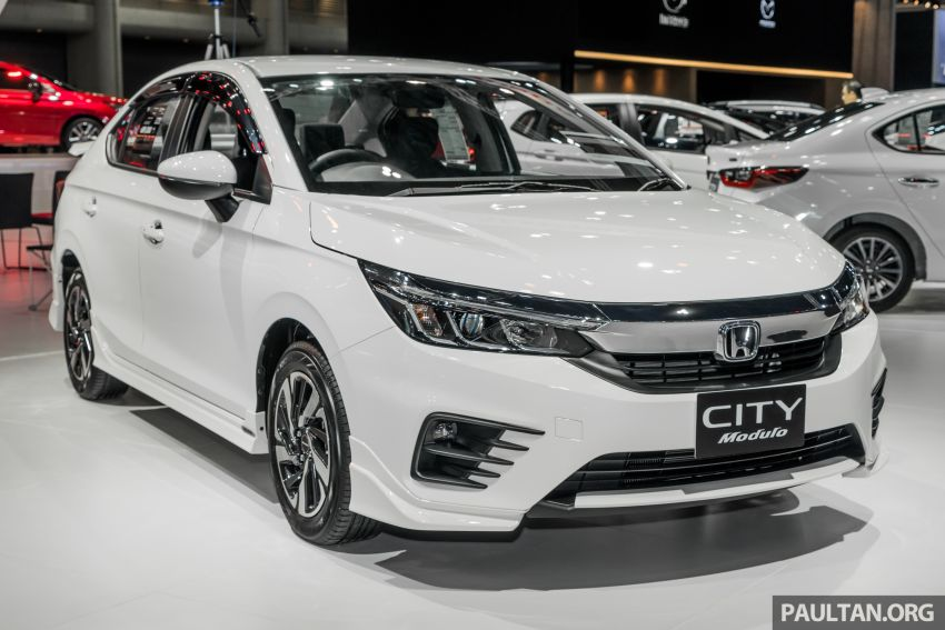 GALLERY: 2020 Honda City on display at Thailand Motor Expo – 1.0L turbo engine with 122 PS, 173 Nm Image #1053050