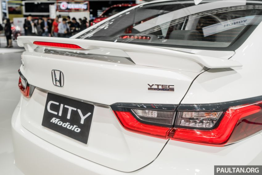 GALLERY: 2020 Honda City on display at Thailand Motor Expo – 1.0L turbo engine with 122 PS, 173 Nm Image #1053064
