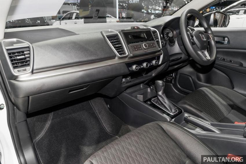 GALERI: Honda City 2020 di Thailand – tiga tingkat kemasan, enjin 1.0 liter turbo, 122 PS dan 173 Nm Image #1053220