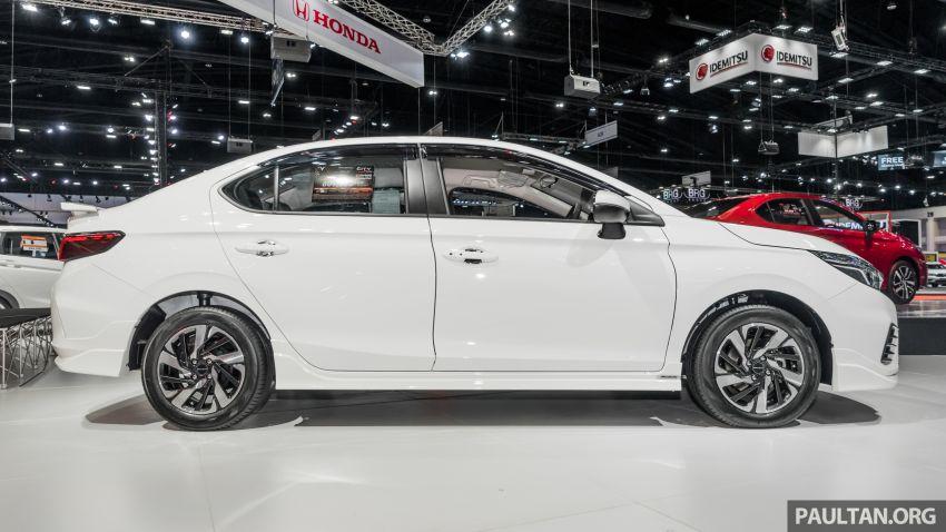 GALERI: Honda City 2020 di Thailand – tiga tingkat kemasan, enjin 1.0 liter turbo, 122 PS dan 173 Nm Image #1053206