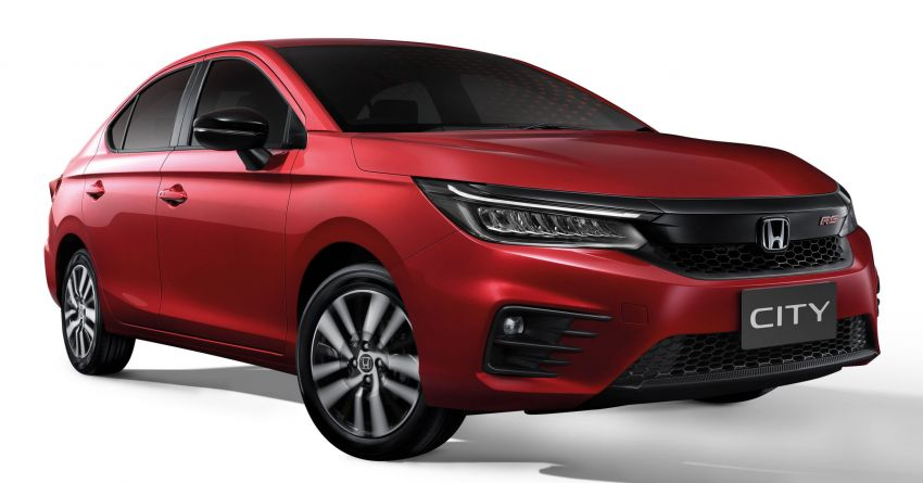 2020 Honda City debuts in Thailand – new fifth-gen model gets a 1.0L turbo engine with 122 PS, 173 Nm Image #1050626