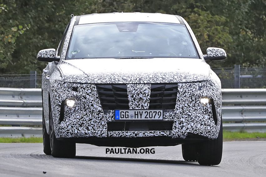 Hyundai Vision T plug-in hybrid SUV concept teased ahead of LA debut – preview of next-gen Tucson? Image #1045636