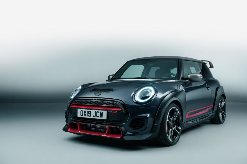 2020 MINI John Cooper Works GP: 306 hp, 450 Nm, 0-100 km/h in 5.2s, 265 km/h Vmax – 3,000 units only! Image #1047656