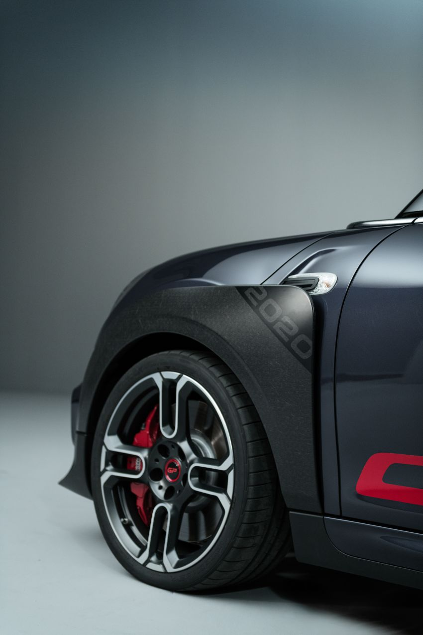 2020 MINI John Cooper Works GP: 306 hp, 450 Nm, 0-100 km/h in 5.2s, 265 km/h Vmax – 3,000 units only! Image #1047662