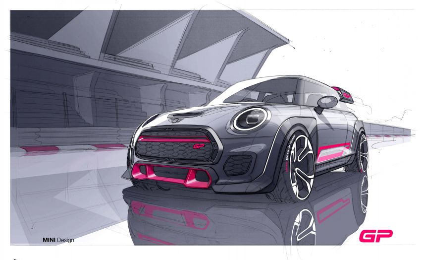 2020 MINI John Cooper Works GP: 306 hp, 450 Nm, 0-100 km/h in 5.2s, 265 km/h Vmax – 3,000 units only! Image #1047670