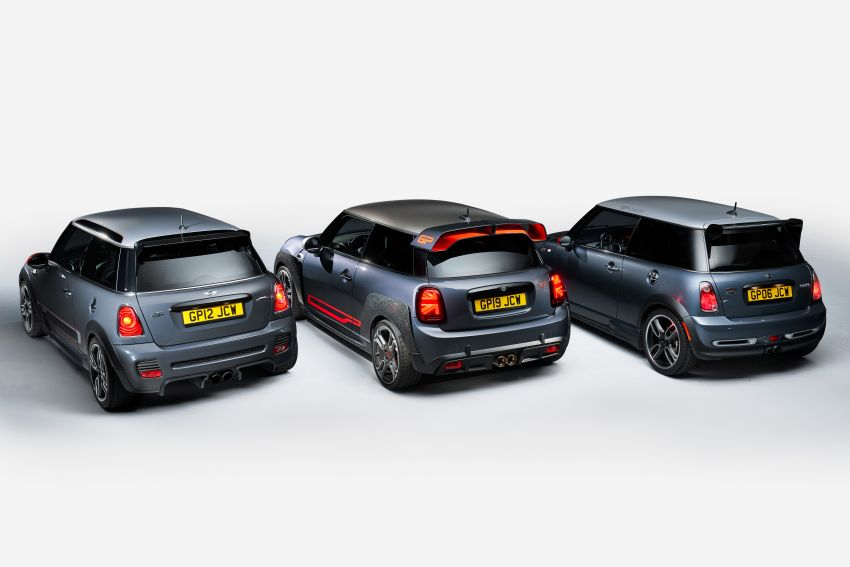 2020 MINI John Cooper Works GP: 306 hp, 450 Nm, 0-100 km/h in 5.2s, 265 km/h Vmax – 3,000 units only! Image #1047677