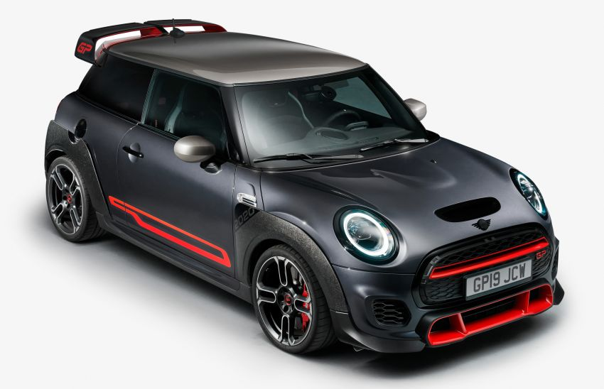 2020 MINI John Cooper Works GP: 306 hp, 450 Nm, 0-100 km/h in 5.2s, 265 km/h Vmax – 3,000 units only! Image #1047683