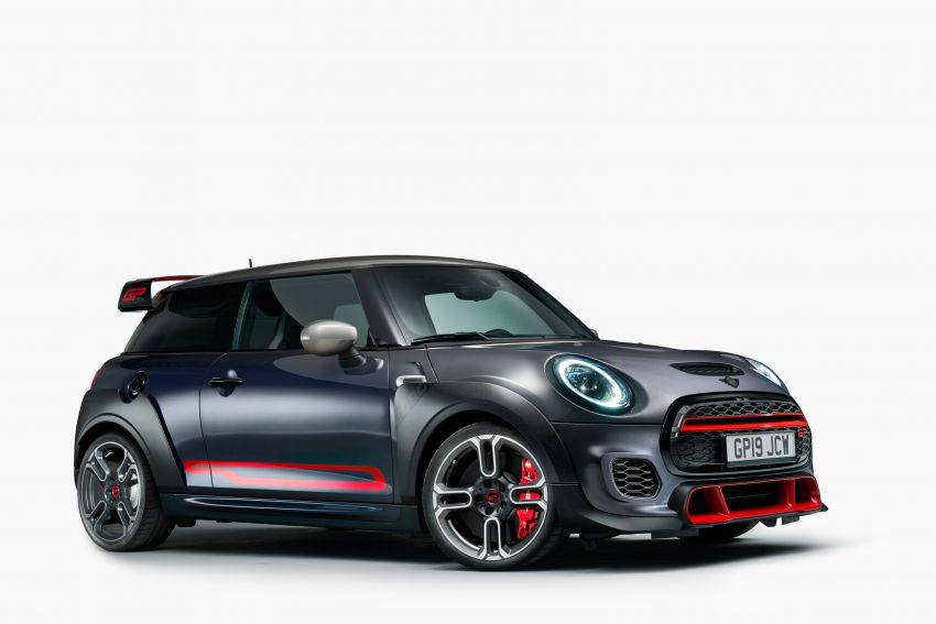 2020 MINI John Cooper Works GP: 306 hp, 450 Nm, 0-100 km/h in 5.2s, 265 km/h Vmax – 3,000 units only! Image #1047688