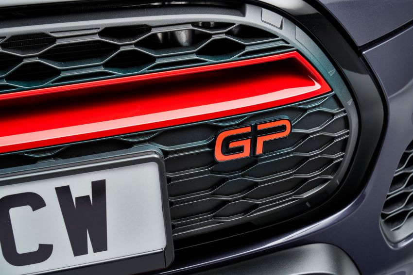 2020 MINI John Cooper Works GP: 306 hp, 450 Nm, 0-100 km/h in 5.2s, 265 km/h Vmax – 3,000 units only! Image #1047694