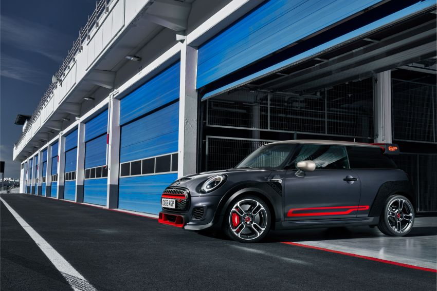 2020 MINI John Cooper Works GP: 306 hp, 450 Nm, 0-100 km/h in 5.2s, 265 km/h Vmax – 3,000 units only! Image #1047747