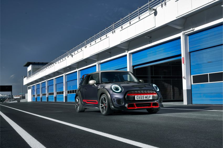 2020 MINI John Cooper Works GP: 306 hp, 450 Nm, 0-100 km/h in 5.2s, 265 km/h Vmax – 3,000 units only! Image #1047750