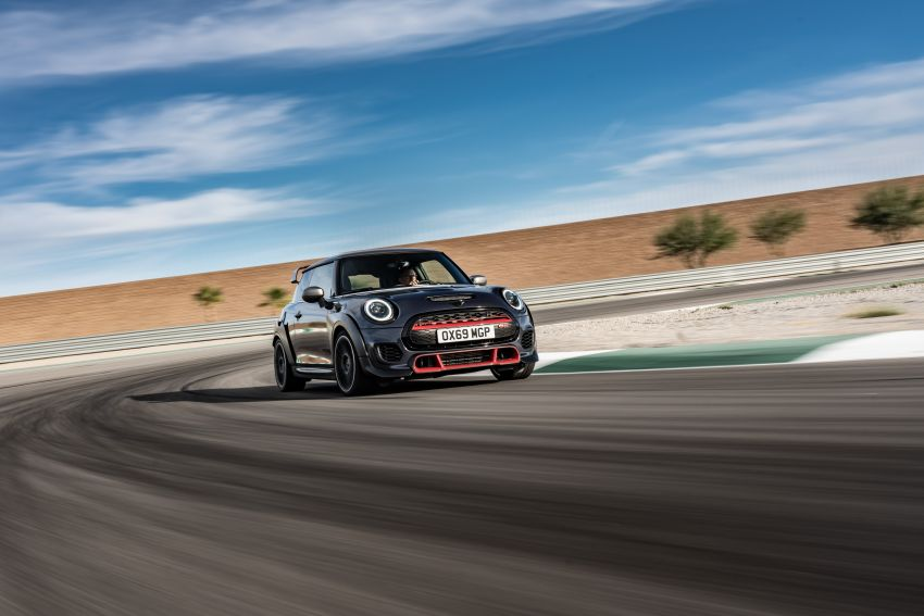 2020 MINI John Cooper Works GP: 306 hp, 450 Nm, 0-100 km/h in 5.2s, 265 km/h Vmax – 3,000 units only! Image #1047851