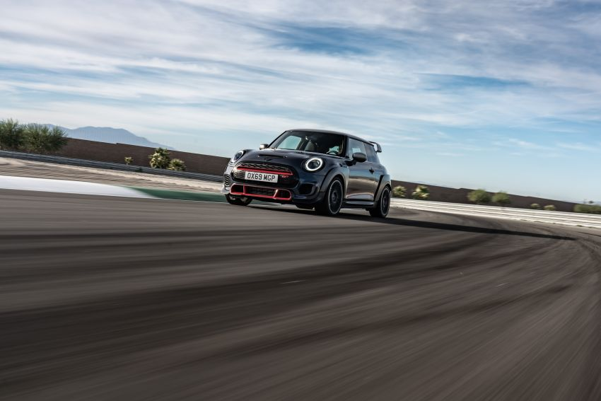 2020 MINI John Cooper Works GP: 306 hp, 450 Nm, 0-100 km/h in 5.2s, 265 km/h Vmax – 3,000 units only! Image #1047876