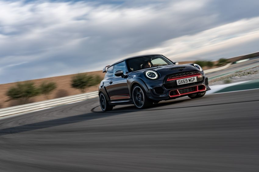 2020 MINI John Cooper Works GP: 306 hp, 450 Nm, 0-100 km/h in 5.2s, 265 km/h Vmax – 3,000 units only! Image #1047968