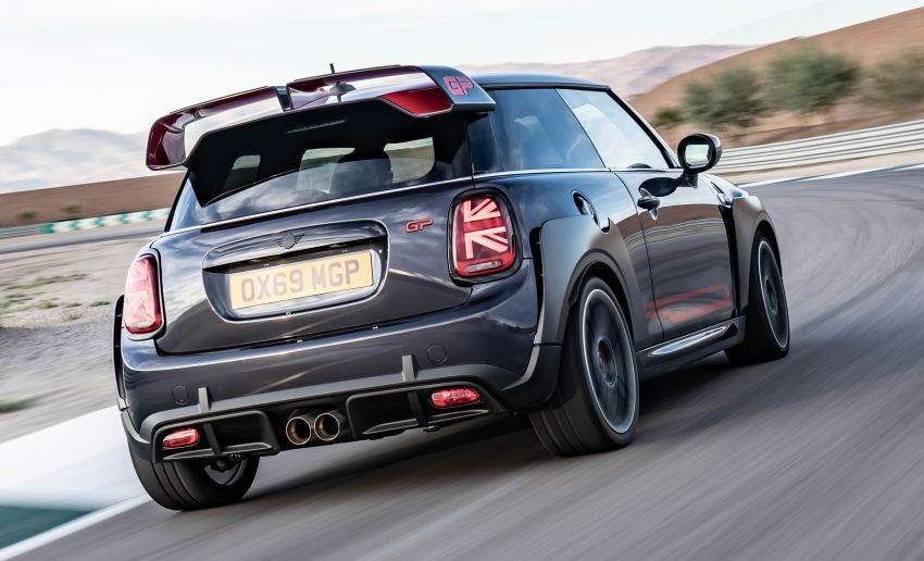 2020 MINI John Cooper Works GP: 306 hp, 450 Nm, 0-100 km/h in 5.2s, 265 km/h Vmax – 3,000 units only! Image #1047969