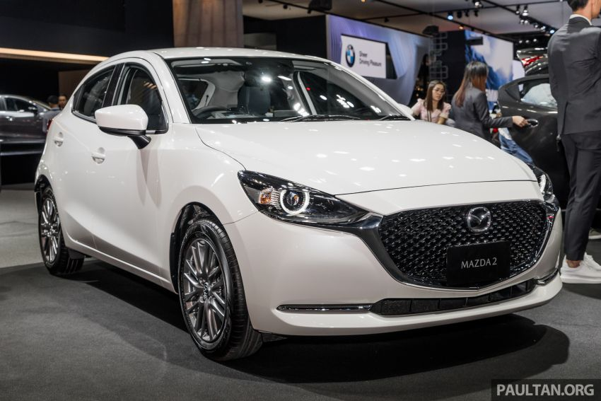 2020 Mazda 2 facelift launched at Thailand Motor Expo – 1.3L petrol and 1.5L diesel; 7 variants; from RM75k Image #1053415