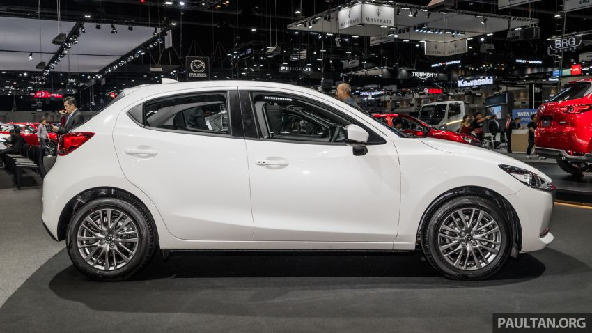 2020 Mazda 2 facelift launched at Thailand Motor Expo – 1.3L petrol and 1.5L diesel; 7 variants; from RM75k Image #1053417