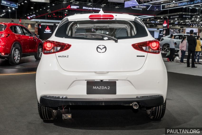 2020 Mazda 2 facelift launched at Thailand Motor Expo – 1.3L petrol and 1.5L diesel; 7 variants; from RM75k Image #1053419
