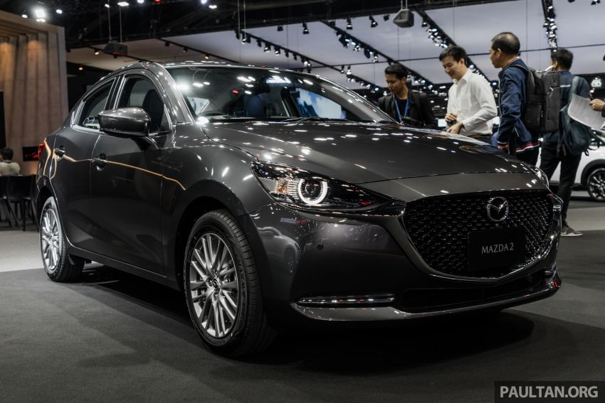 2020 Mazda 2 facelift launched at Thailand Motor Expo – 1.3L petrol and 1.5L diesel; 7 variants; from RM75k Image #1053450