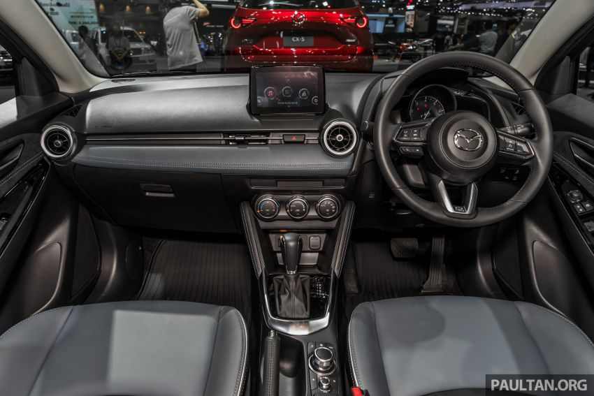 2020 Mazda 2 facelift launched at Thailand Motor Expo – 1.3L petrol and 1.5L diesel; 7 variants; from RM75k Image #1053465