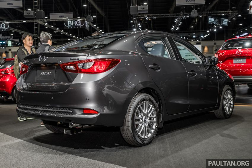 2020 Mazda 2 facelift launched at Thailand Motor Expo – 1.3L petrol and 1.5L diesel; 7 variants; from RM75k Image #1053451