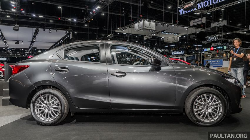 2020 Mazda 2 facelift launched at Thailand Motor Expo – 1.3L petrol and 1.5L diesel; 7 variants; from RM75k Image #1053452