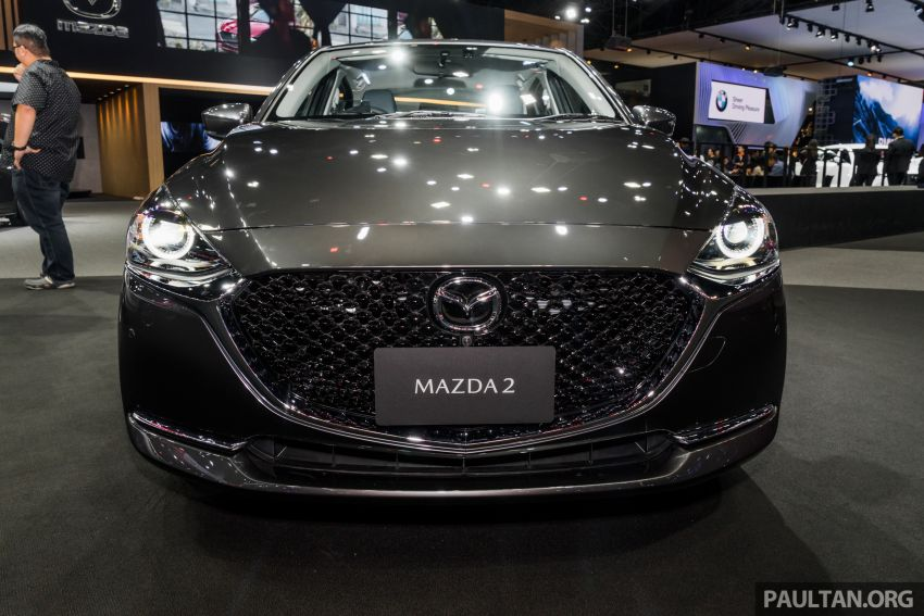 2020 Mazda 2 facelift launched at Thailand Motor Expo – 1.3L petrol and 1.5L diesel; 7 variants; from RM75k Image #1053453