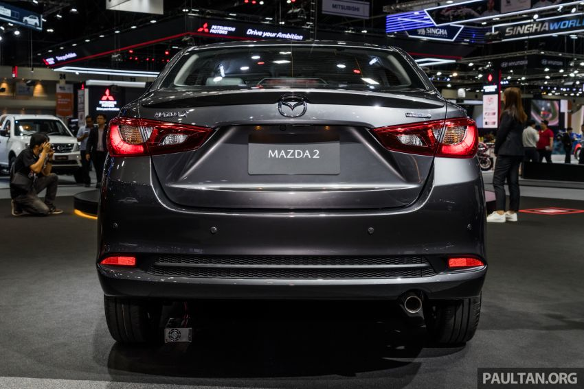 2020 Mazda 2 facelift launched at Thailand Motor Expo – 1.3L petrol and 1.5L diesel; 7 variants; from RM75k Image #1053454