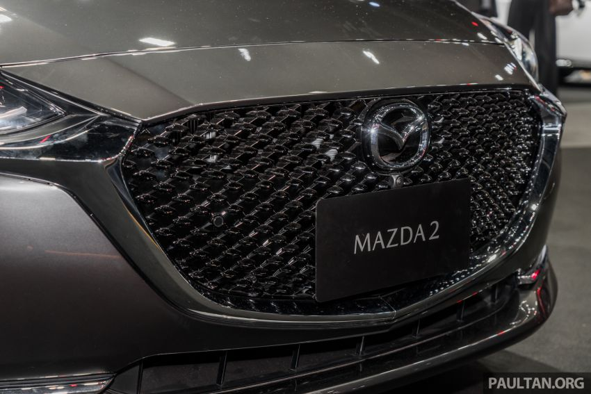 2020 Mazda 2 facelift launched at Thailand Motor Expo – 1.3L petrol and 1.5L diesel; 7 variants; from RM75k Image #1053456